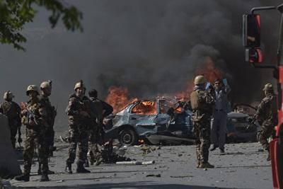 「阿富汗炸彈爆炸」貨車一撞至少16死38傷