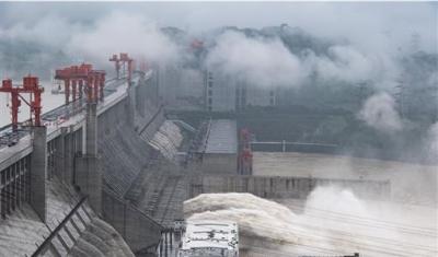 「長江三峽大壩」2020年第2號洪水,防汛情況仍不樂觀