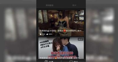「情色直播」夢夢肉片遭外流,開吉怒告50網友