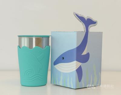 「中鋼紀念品」股東會發鯨彩都繪抗菌鋼杯