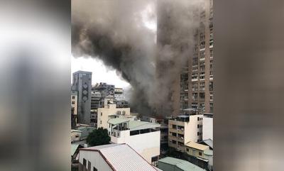 「中華夜市縱火」台中店面噴焰海、濃煙竄天,幻想兇手抓到了