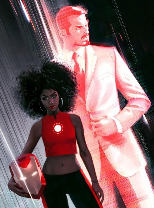 「鋼鐵俠變黑人妹子」托尼·斯塔克卸甲換人當