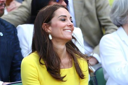 「凱特王妃現身溫網」皇室包廂觀看比賽