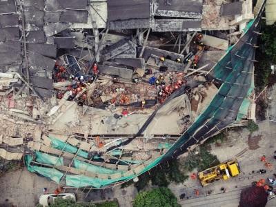 「上海廠房倒塌」豆腐渣工程崩壞,活埋工人已知10死