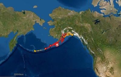 「美國海嘯警報」阿拉斯加外海7.8強震,很快警報已解除!