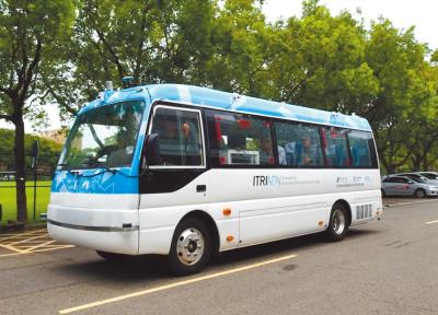 「無人巴士試營運」年底淡海試營運,打造新北智慧交通城
