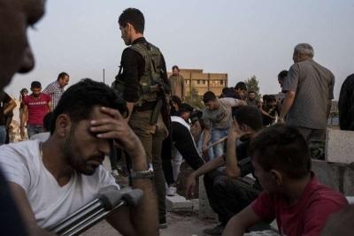 「庫德族怒轟美國」把我們留在這裡任人屠殺!