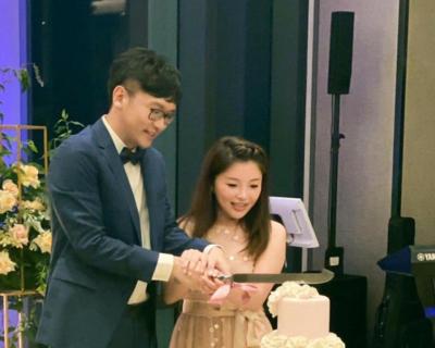 「張嘉郡再婚」2人非常低調,韓冰也出席祝福
