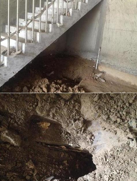 「商舖裝修挖到棺材」開發商拒絕換房或退房