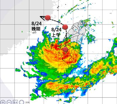「暴雨襲台」 豪大雨警戒將擴大到新竹以南