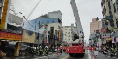 「中華路大火」台中遭27歲林男放火延燒16戶,消防:鐵皮屋相連無巷弄