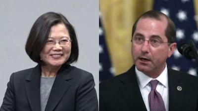 「美國衛生部長」阿查爾夜遊故宮,陳時中回應:台灣扮演重要的角色