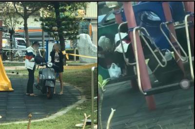「疫情衝擊」漁光島2.0?台南巴洛公園,網:沒有保持社交距離!