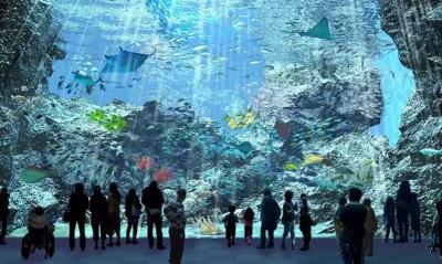 「桃園水族館開幕」日本八景島海島樂園首座分館Xpark