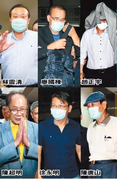 「立委收賄」4立委1黨主席,最雖是陳其邁躺著也中槍?