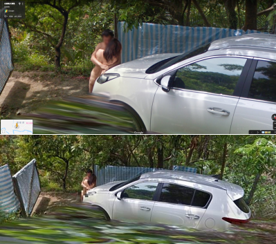 「野戰男女啪啪啪」Google Map地圖街景拍到,人在做谷哥在看!