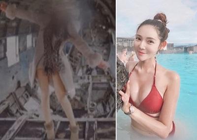 「網紅livia」踩踏冰島飛機遺骸被罵爆!還原現場狀況認錯了