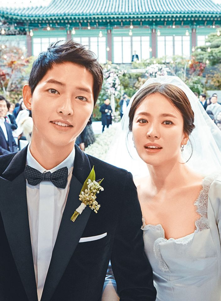 「雙宋婚禮」首爾新羅酒店舉行,見證感動時刻
