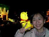 *元宵燈籠高高掛*:2005 終於擠到小熊維尼旁了~