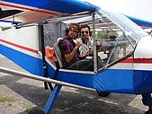 駕駛超輕型飛機: