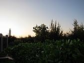 2010-09-21阿寶王宮吃鮮蚵(canon  S90照):趕上夕陽