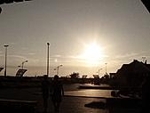 2010-09-21阿寶王宮吃鮮蚵(canon  S90照):夕陽無限好