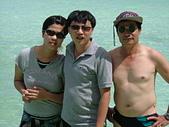 帛琉:由左而右:未婚妻-我-老爸