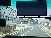 2008日本京都大阪賞櫻自由行~第1天:日本高速公路有站可以停靠耶
