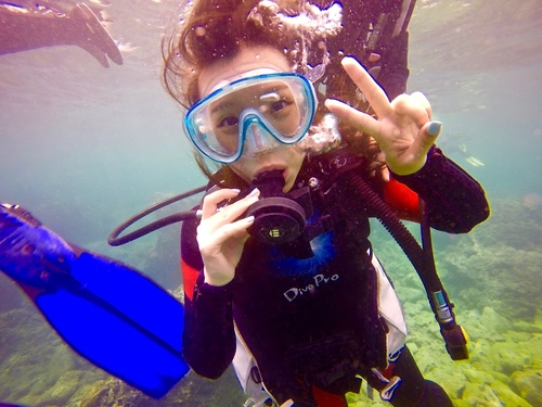 水下微笑.jpg - 體驗學潛水