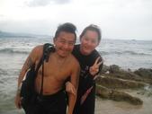 南青潛水 四月 活動照:嗯~有強壯的潛水教練真好