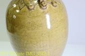[玩古。古玩] 五代越窯秘色瓷雙繫瓶 2018/04/10:IMG_9342-1.jpg