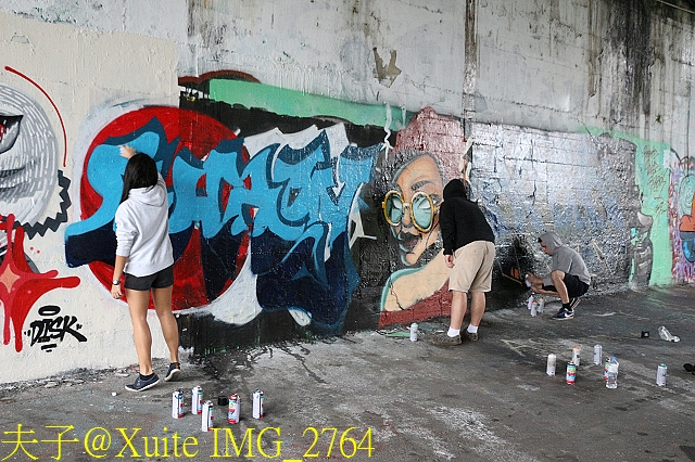 台北市景美河濱公園 塗鴉牆 (Graffiti Walls) 2017119:IMG_2764.jpg