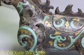 [玩古。古玩] 戰國青銅錯金銀神獸尊 (一對二件) 2018/03/10:IMG_9108.jpg