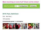 貼在進口水果上的貼紙(標簽)有個識別碼, 是代表什麼?:3118 Pears.jpg