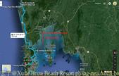 泰國攀牙灣,Hong,Panak ,007 James Bond Island 20160207:Briza Beach Resort phang-nga naval base Ap Por Map.jpg