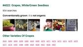 貼在進口水果上的貼紙(標簽)有個識別碼, 是代表什麼?:4022 Grapes White green Seedless.jpg
