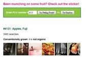 貼在進口水果上的貼紙(標簽)有個識別碼, 是代表什麼?:4131 Apple Fuji.jpg