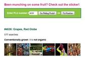 貼在進口水果上的貼紙(標簽)有個識別碼, 是代表什麼?:4636 Grapes Red Globe.jpg