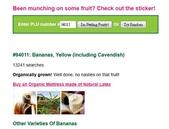 貼在進口水果上的貼紙(標簽)有個識別碼, 是代表什麼?:94011 Organically Bananas.jpg