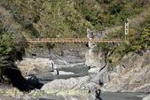 軍艦岩吊橋,尖石鄉秀巒全新景點 (秀巒道路 5K處)。 20160107:CHU_1515.jpg