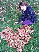 Lydia at Rochester on Autumn 2009:DSC00710.JPG