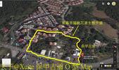 桃園楊梅保甲古道 (楊梅老莊路783巷) 2017/04/19:保甲古道 O 型 Map.jpg