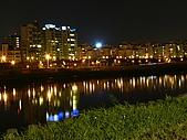 台北市迎風河濱公園夜拍大直橋及基隆河 2010/01/19:P1070045.JPG