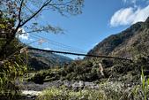軍艦岩吊橋,尖石鄉秀巒全新景點 (秀巒道路 5K處)。 20160107:CHU_1552.jpg