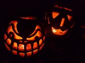 Hallowe'en (萬聖節前夕) Lydia and Jack-o-Lantern :DSC09815.JPG