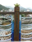 比民國年長了 2歲的坪林舊橋 - 先民智慧, 建構特殊的船型橋敦, 細斜橋柱:P1110142.JPG