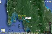泰國喀比翡翠池 Emerald Pool krabi  20160206:Emerald Pool Krabi  Map.jpg