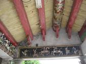 富安宮:富安宮舊廟的圓樑與泥塑.JPG