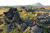 Grenevik(草屋)- Godafoss(上帝瀑布)-Mývatn (米湖) :荒蕪的月球表面啊