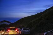 合歡山(08/23~24/'14):6:40pm 合歡山的車流